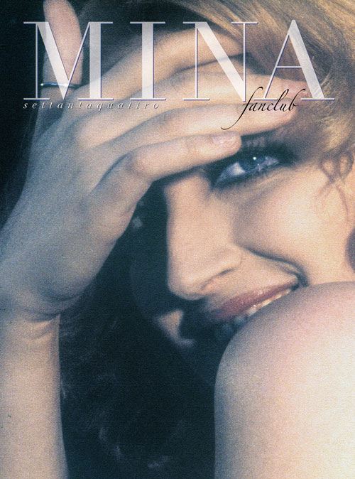 Mina Fan Club fanzine 74